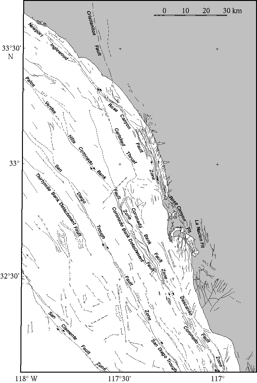 SoCal fault image